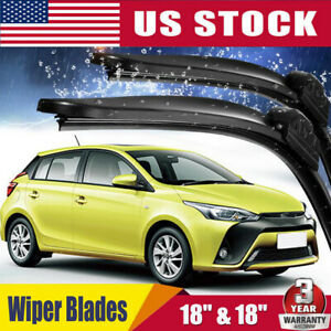 18 18 All Season Frameles Oem Quality Beam Windshield Wiper Blades Set Of 2