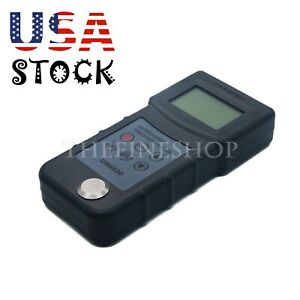Handheld Digital Lcd Ultrasonic Thickness Gauge Ultrasonic Tester Meter Tool us
