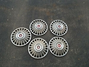 5 1967 67 Ford Mustang Hubcaps Wheel Cover Center Caps