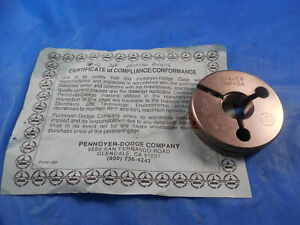 Certified 3 4 16 Unf 2a Thread Ring Gage 750 No Go Only P d 7029 3 4 16