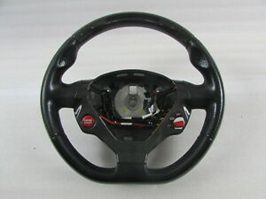 Ferrari California Steering Wheel Black Carbon Fiber Used P N 82023690