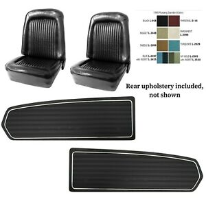 1968 Mustang Coupe Seat Cover Upholstery Door Panel Set Any Color