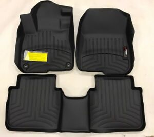 Weathertech Floor Mats Floorliner For Honda Cr V 2017 2018 1st 2nd Row Black