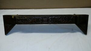 Antique Wheeler Wilson Mfg Co Treadle Sewing Machine Cabinet Top Drawer Ornate