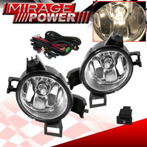 For 2005 2006 Nissan Altima Driving Clear Bumper Fog Lights Replacement Jdm