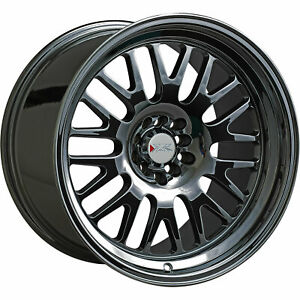 19x8 5 Black Chrome Wheel Xxr 531 5x100 5x4 5 15
