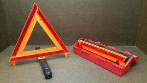 3 Sets James King Co Safety Warning Triangles W Cases Model 1005