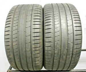 Two Used 315 35r20 3153520 Pirelli Pzero Pz4 Run Flat Bmw 7 32 A202