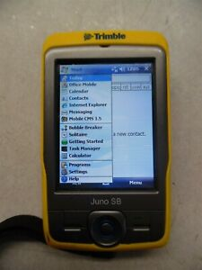 Trimble Juno Sb Outdoor Gps Mapping Data Collector P n 66410 00
