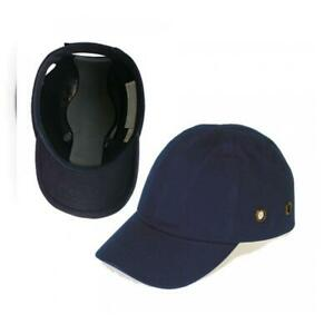 Blue Baseball Bump Cap Lightweight Safety Hard Hat Head Protection By