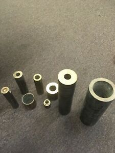 Bronze Bushing Rod Cut Offs 8 Different Sized Pieces