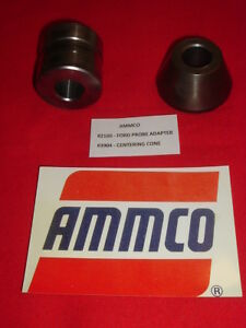 Ammco 2160 Ford Probe Adaptor And 3904 Centering Cone For 1 Arbors Usa