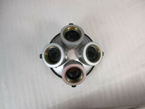 Nikon Microscope Dic Nosepiece 4 Place Bd With All Prisms