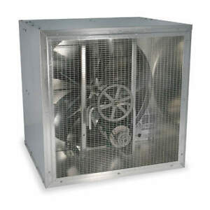 Dayton 1aja7 Commercial Supply Fan With Weather Hood