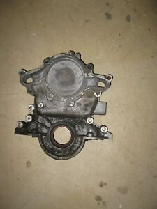 Ford Timing Cover 302 5 0 V8 With Electric Fuel Pump Mount E5ae6059fa