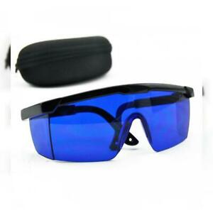 Blue Safety Glasses 492nm 770nm Red Green Yellow Laser Eye Protection Goggles