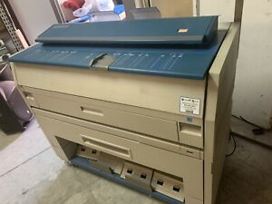 Kip 3000 Low Meter Wide Format Plotter Printer Copier Very Good Shape