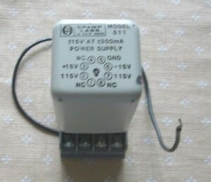 Opamp Labs 511 Power Supply 15v 300ma With Potter rumfield Base