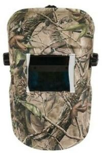 Forney Industries Welding Helmet Camo Auto dark High Quality Protection Gear