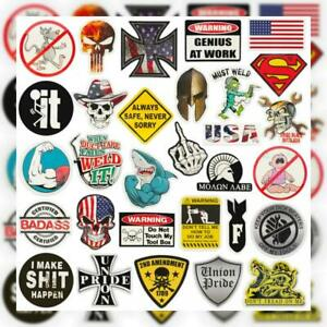 Hard Hat Stickers big 30 pack Union American Patriotic Accessories For