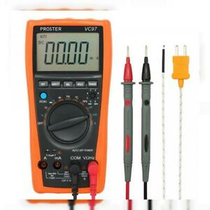 Proster Digital Multimeter 3999 Lcd Auto Ranging Multi Meter With