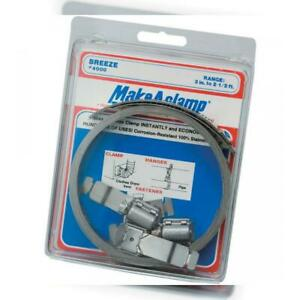 Breeze Make a clamp Stainless Steel Hose Clamp System 1 Kit Contains 8 1 2