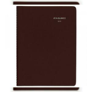 At a glance 2019 Weekly Appointment Book Planner Dayminder 8 X 11