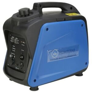 Homegear 2000i Digital 2000 Watts Portable Gas Inverter Power Generator