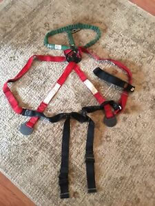 Buckingham Pole tree Climbing Harness Model U63935q32 Size U See Pics