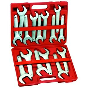 New 15 Piece Sae Service Wrench Set 3 4 1 5 8