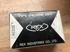 Wheeler Rex Pipe Machine Dies 60234 1 To 2 Ss New