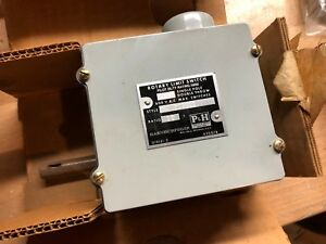 P h Rotary Limit Switch Single Pole Double Throw 36 1 479q34d2 Pilot Duty Rating