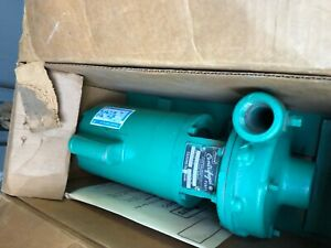 Myers Centrifugal Pump 125m 1 1 2 1 5hp Century Pump Motor new In Box