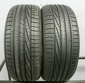 Two Used 245 45r19 2454519 Goodyear Eagle Rsa 2 9 32 A218 Tpc Spec 1282ms