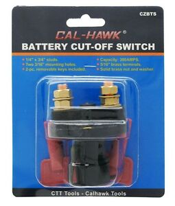 Battery Cut Off Switch Safety Shut Off For 12v Systems