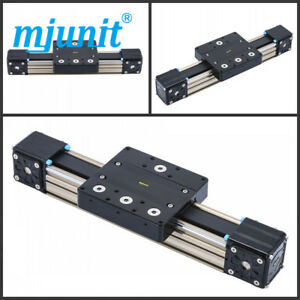 Mjunit Mj80 Linear Rail Shaft Guide Support Cnc Aluminium Axis With 500mm Stroke