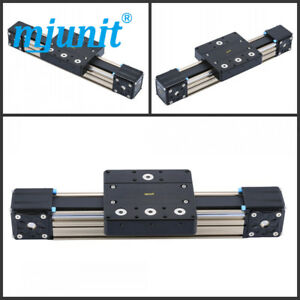 Mj80 Linear Stage Actuator Cnc Router Parts Linear Rail Guide With 1000mm Stroke