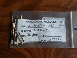 Amphenol M39029 56 348 Connector Contacts Socket Size 22 Gold individually Sold