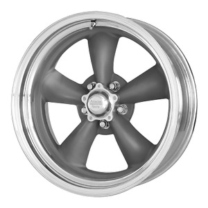 4 15 Inch Chevy C3 Chevy Corvette 15x8 Gray Machined Torq Thrust Ii Rims 3 79bs