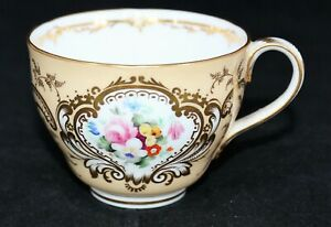 Antique 19th Century Porcelain English Register Marks Hand Painted Tea Cup Only