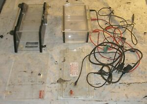 2 Electrophoresis Misc Equipment Ibi Model Mph Owl Model B1 See Photos