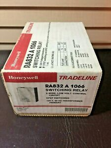 Nib Honeywell Tradeline Ra832 A 1066 Switching Relay 120v 2 wire Low Volt Unopen