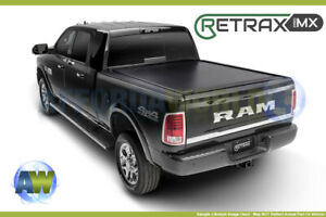 Retraxpro Mx Tonneau Cover W O Stake Pockets For Frontier 5ft Bed Crew Cab 05 18