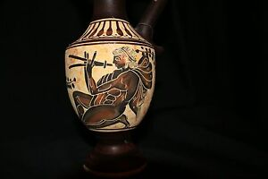 Greek Apulian That Dates To 500 Bc Red Figure Krater Man With Flute No 356