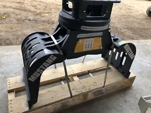 Mustang Hydraulic Rotating Demolition Scrap And Sorting Grapples For Excavator