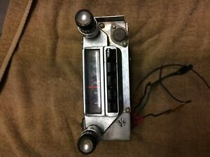 1965 Ford Mustang Stock Radio