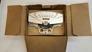 Stewart Warner D589y Speedometer Genuine Part New In Box Nos