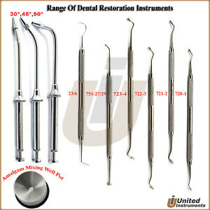 Tooth Amalgam Filling Instrument Restorative Composite Burnisher Laboratory Tool