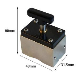 Magnetic Welding Fixer Workholding 130lb 60 Kgf Hold Force With On off Switch