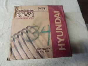 Hyundai Sf 71 Flux Core Wire 1 6mm 1 16